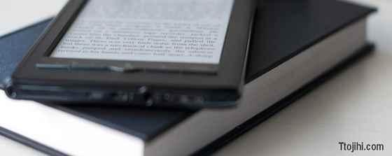 تصویر ایده کتاب الکترونیک با سرمایه کم