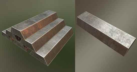 تصویر شمش فلزات