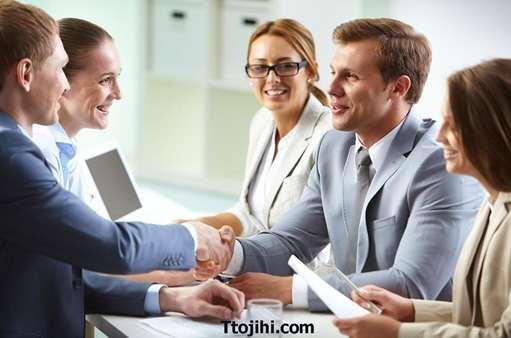 تصویر ایجاد ارتباط در کسب و کار