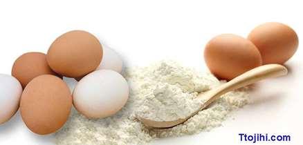 تصویر نحوه تولید پودر تخم مرغ