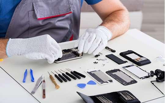 تصویر پرستیژ کاری تعمیرات موبایل-تی توجیهی