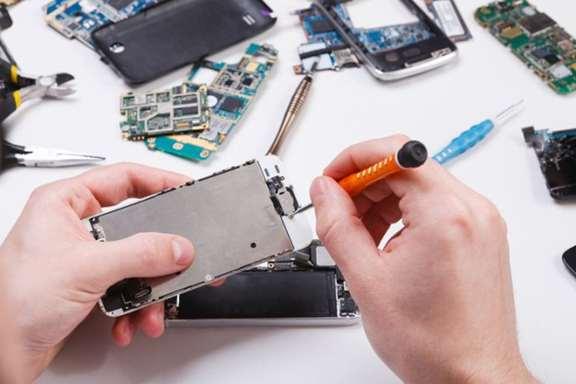 تصویر آموزش تعمیرات گوشی موبایل-تی توجیهی