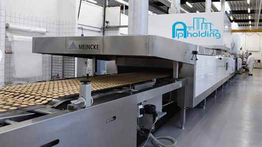 تصویر خط تولید کیک و کلوچه صنعتی