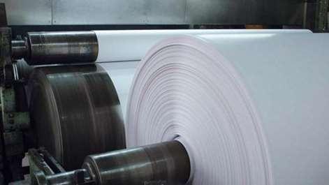 تصویر خط تولید خمیر کاغذ