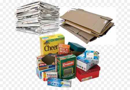 تصویر انواع کاغذ های باطله قابل بازیافت