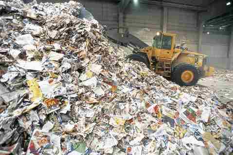فرآیند بازیافت کاغذ های باطله