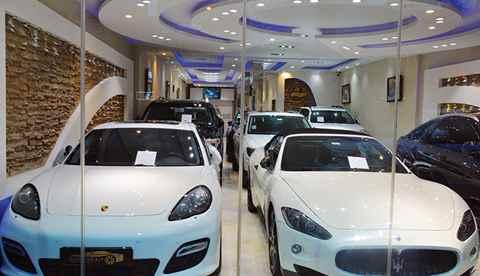 تصویر نمایشگاه اتومبیل