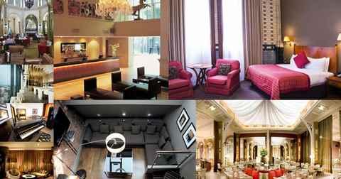 تصویر از نمای بخشهای مختلف یک هتل