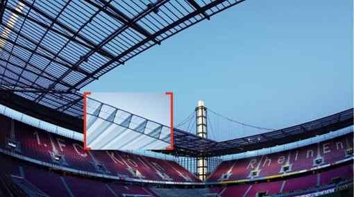 تصویر کاربرد ورق پلی کربنات در فضاهای ورزشی