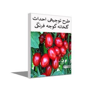 طرح توجیهی کشت گوجه فرنگی گلخانه ای (تابستان 99)