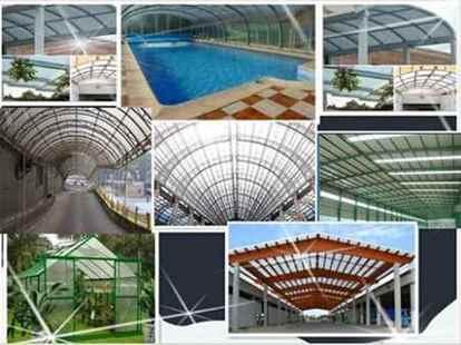 تصویر کاربردهای ورق پلی کربنات