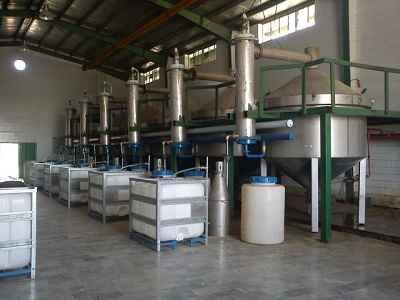 تصویر کارخانه تولید عرقیات معطر