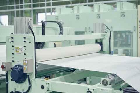 تصویر خط تولید کاغذ از سنگ آهک