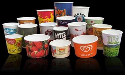 تصویر ظروف یکبار مصرف کاغذی