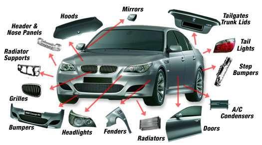 تصویر انواع قطعات پلاستيكی خودرو