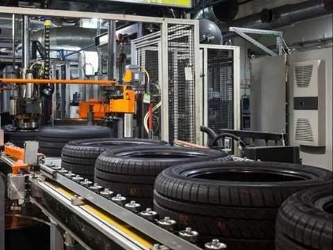 تصویر خط تولید لاستیک خودرو