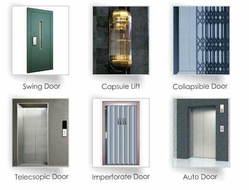 تصویر انواع آسانسورها