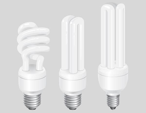 اجزاء تشكيل دهنده لامپ کم مصرف (CFL)