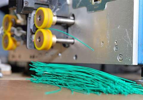 تصویر خط تولید محصولات مفتولی پلاستیکی