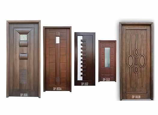 تصویر درب های پيش ساخته چوبی