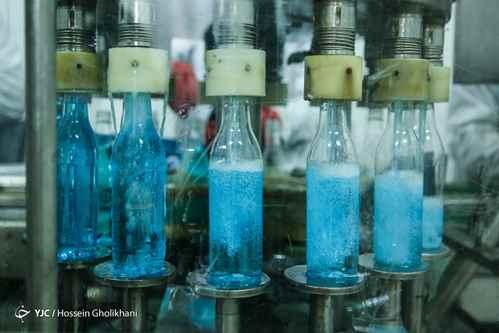 خط تولید الکل طبی