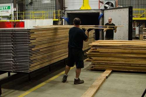 توليد چوب خشک کن