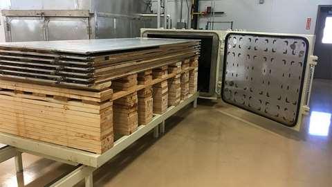 طرح توجیهی احداث واحد توليد چوب خشک كن صنعتی