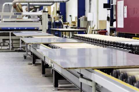 کارخانه تولید روکش HPL