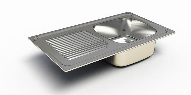 بررسی روش توليد سينک ظرفشویی