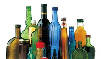 بطری شيشه ای